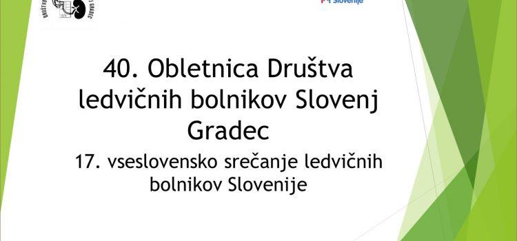 Prezentacija s praznovanja 40 let DLB Slovenj Gradec
